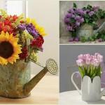 Такая ваза больше подойдет для свадьбы, организованной на природе