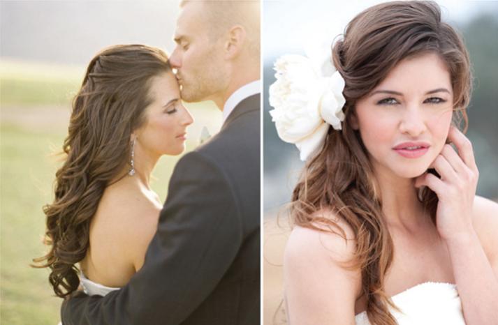 какие свадебные прически сейчас в моде