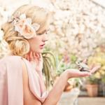 Живые цветы и плетения -  идеальное решение для свадьбы