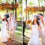 Все оформление свадьбы в одних цветах