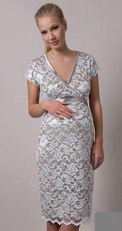 Платье на свадьбу для беременной гостьи фото