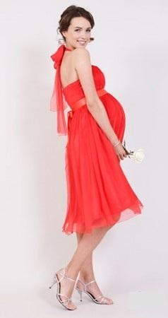 20f973341c9 Вечерние платья для беременных. Мода 2012 года - фото вечерних нарядов