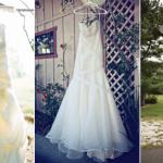 Почему бы не повесить свадебное платье на улице?