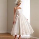 Выбирай короткий свадебный наряд