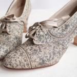Идеальные туфельки для свадьбы в стиле винтаж