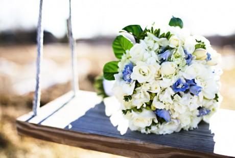 Свадебный букет после свадьбы
