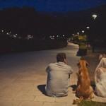 Собака - друг молодоженов и третий член семьи