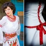 Укрась платье лентами