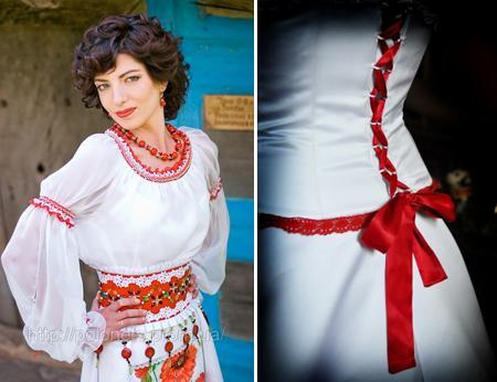 Украинские платья
