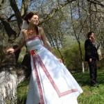 Модная невеста в украинском стиле