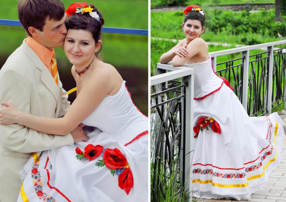 Свадьба в украинском стиле не просто