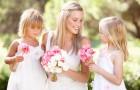Девочки на свадьбе