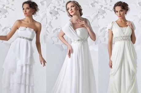 Платье в стиле ампир до пола