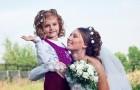 Как одеть девочку на свадьбу