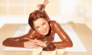 Шоколадные процедуры накануне свадьбы