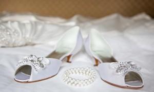 Белые туфли невесты