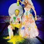 Зато какие яркие фото для свадебного альбома