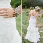 Сочетай разные браслеты для своего свадебного образа