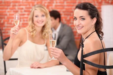Свадебный тост с налетом французского
