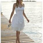 Невеста на летней свадьбе