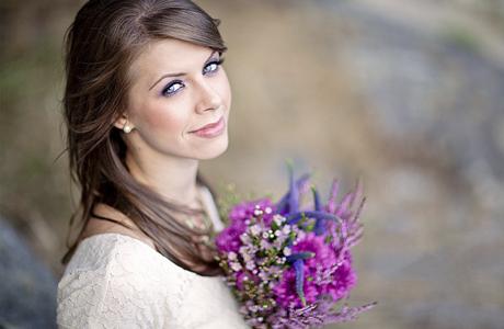 Прическа для летней свадьбы