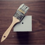 Раскрашиваем деревянную коробку