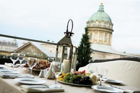 Ресторан или кафе с открытым залом