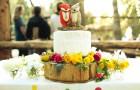 Свадебный торт в летнюю пору