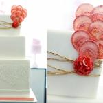 Украшай свадебный торт ярко и необычно!