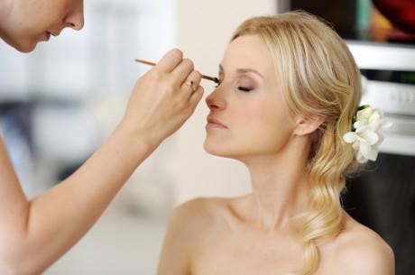 Свадебный макияж в жару