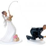 А у невесты хорошая хватка