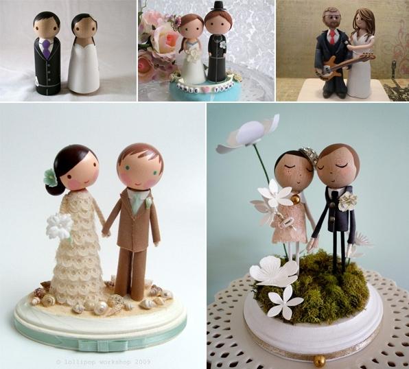 Статуэтки на торт свадебные купить