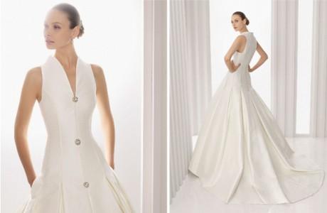 Карманы в свадебном платье