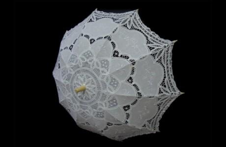 Зонт с кружевом от ZEST