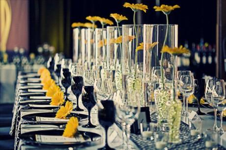 Флористическое оформление интерьера свадьбы