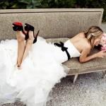 Пояс - прекрасное украшение для талии невесты