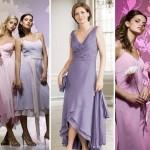 Подружки невесты в платьях пастельных тонов