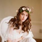 Роскошный свадебный венок
