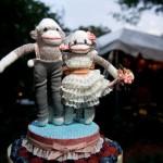 Милейшие молодожены-обезьянки