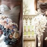 Играем с оттенками цветов и платья