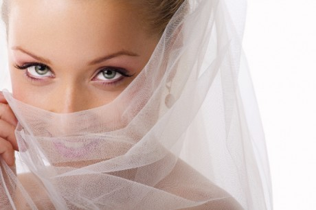 Аксессуары невесты - фата