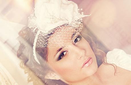 Свадебная шляпка ВДОХНОВЕНИЕ