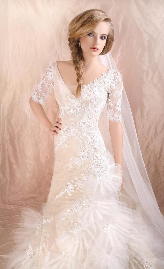 Итальянский модный дом Cherie Sposa всегда удивлял шиком, гламуром и необычайной красотой свадебных платьев. В фотогалерее, которую подготовил наш портал