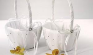 Свадебная корзинка для осыпания молодоженов