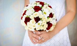 Букет невесты и ее фигура