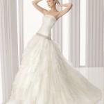 Романтичное платье без бретелек