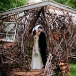 Свадебная крепость для двоих