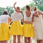 Яркий желтый низ и белоснежный верх - почему бы и нет?