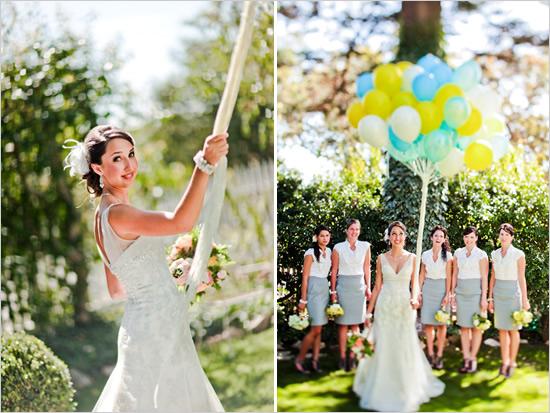 Подруги невесты в юбках