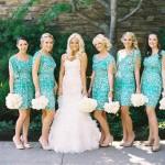 Потрясающий оттенок платьев